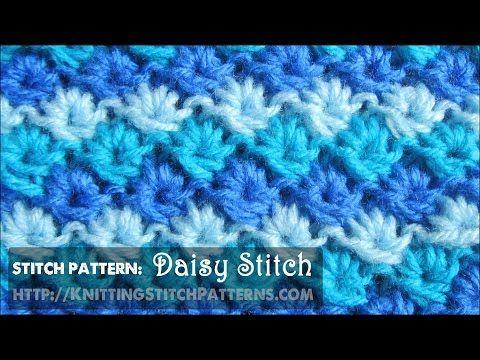 Unique Textured Stitch Three Color Daisy Stitch Stitch Dictionary