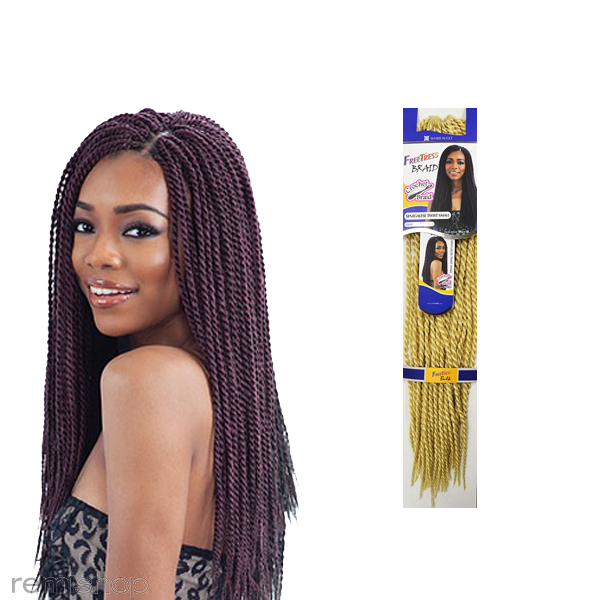 Freetress Senegalese Twist Small Color 613 Synthetic Braiding