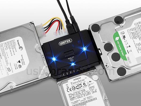 Unitek USB HDD Docking Station to get to stuff on those old hard drives