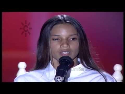 India Martinez Canta Con Doce Anos En Veo Veo Cantantes Rumba