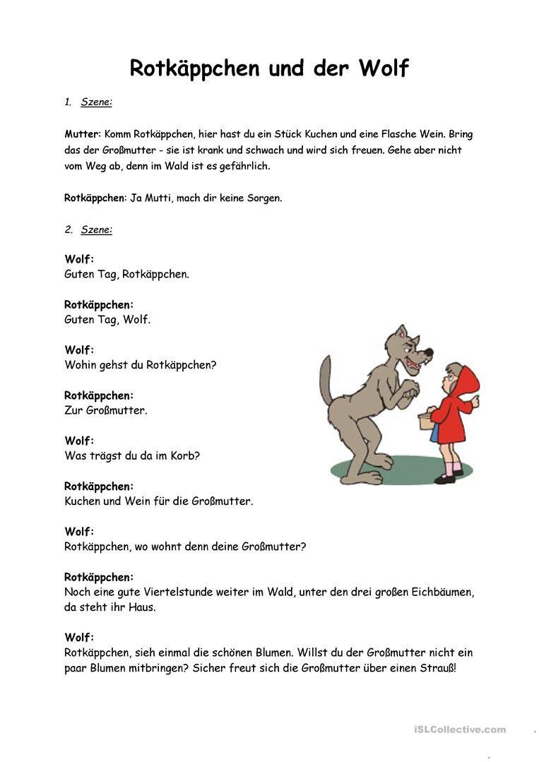 Märchen Rotkäppchen   Pinterest   Märchen, Rotkäppchen und ...