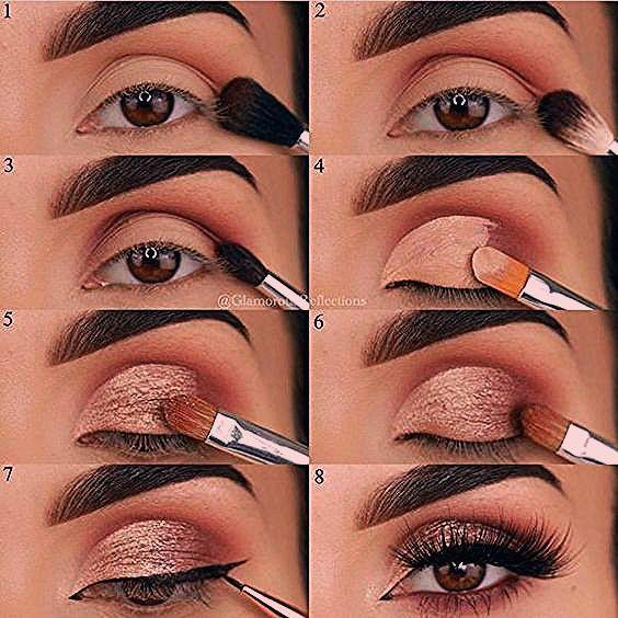 22 Augen Make up Tutorial Schritttempo z. Hd. Schritttempo Ihr