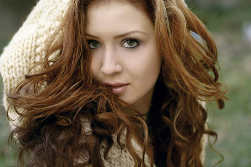 Redhead Megan Mullins Country Singer Red Hair Freckles Red