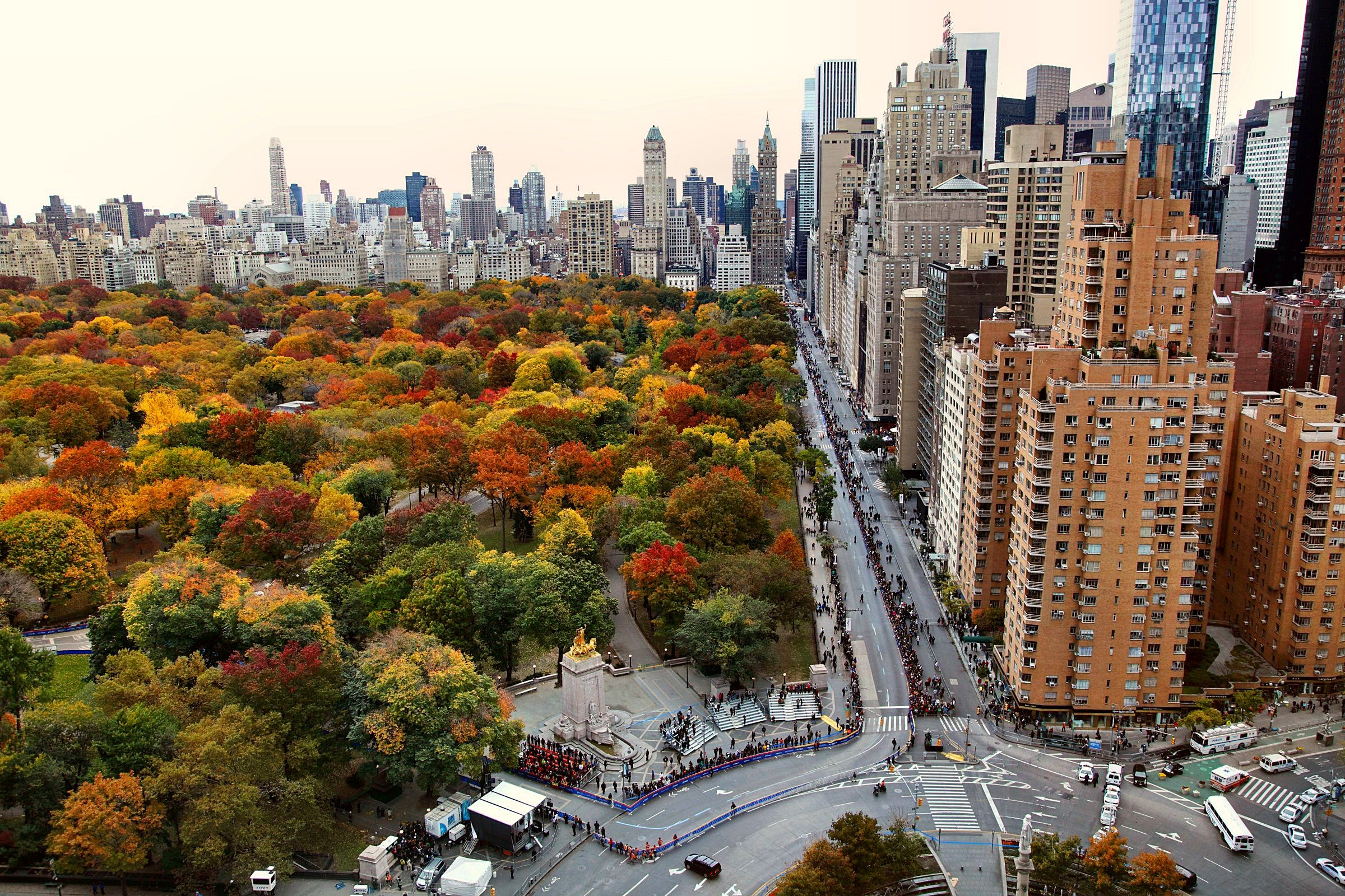 Central Park In Fall New York Autumn In New York New York Wallpaper Central Park