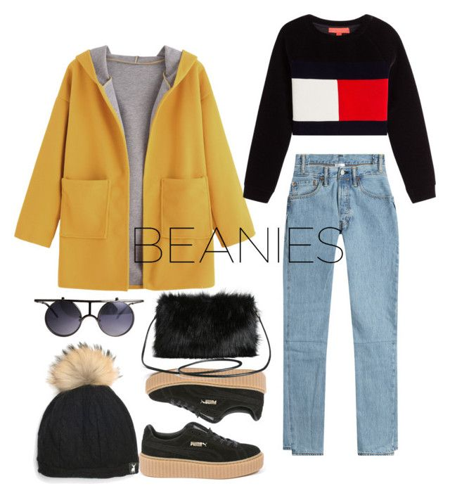 """""""Beanie❤"""" by wizzlye ❤ liked on Polyvore featuring Vetements, Tallis, Puma and Torrid"""