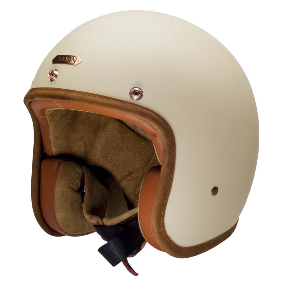 95338adc Hedon Hedonist Helmet - Creme | Open Face Motorcycle Helmets | FREE UK  delivery - The Cafe Racer