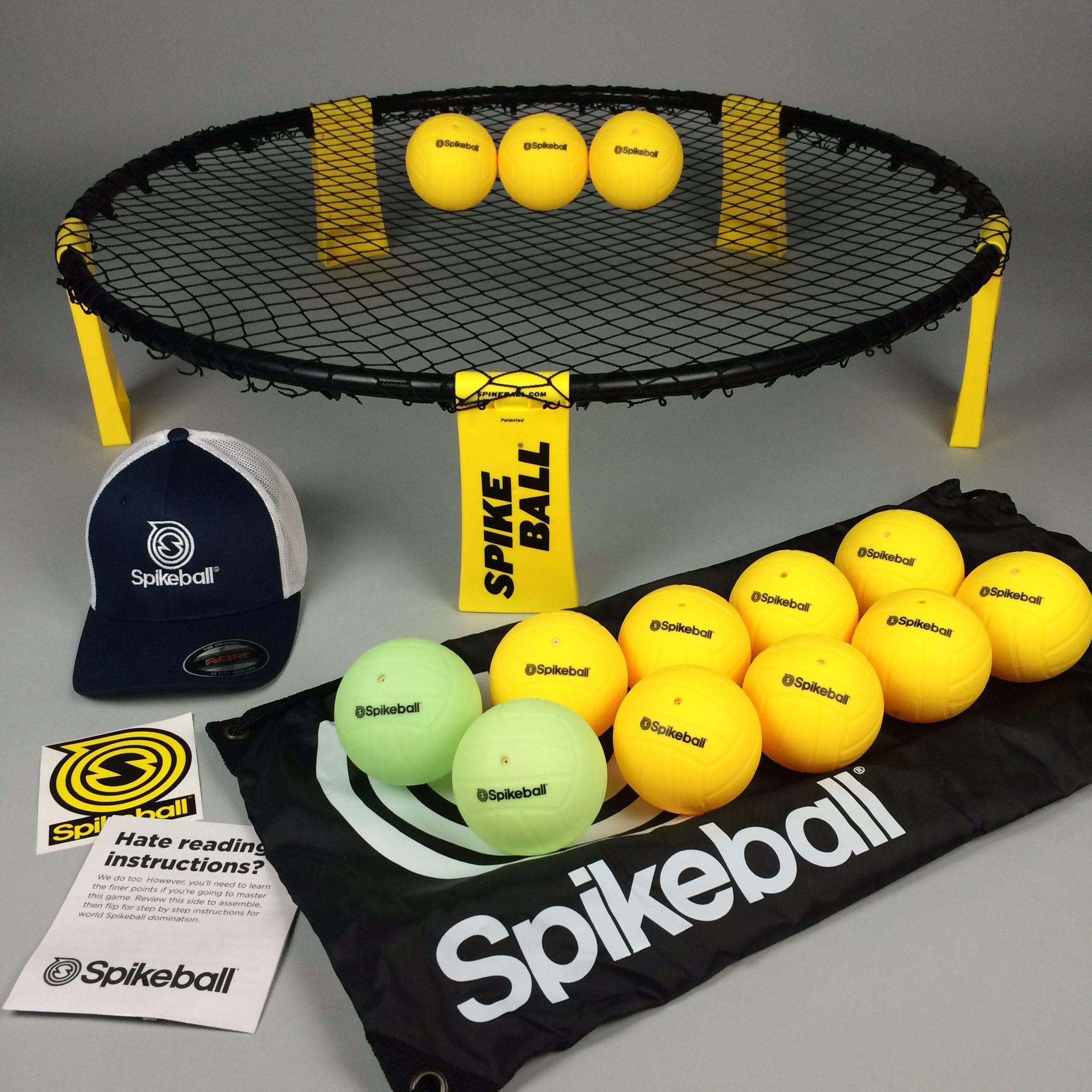 how to play spikeball video