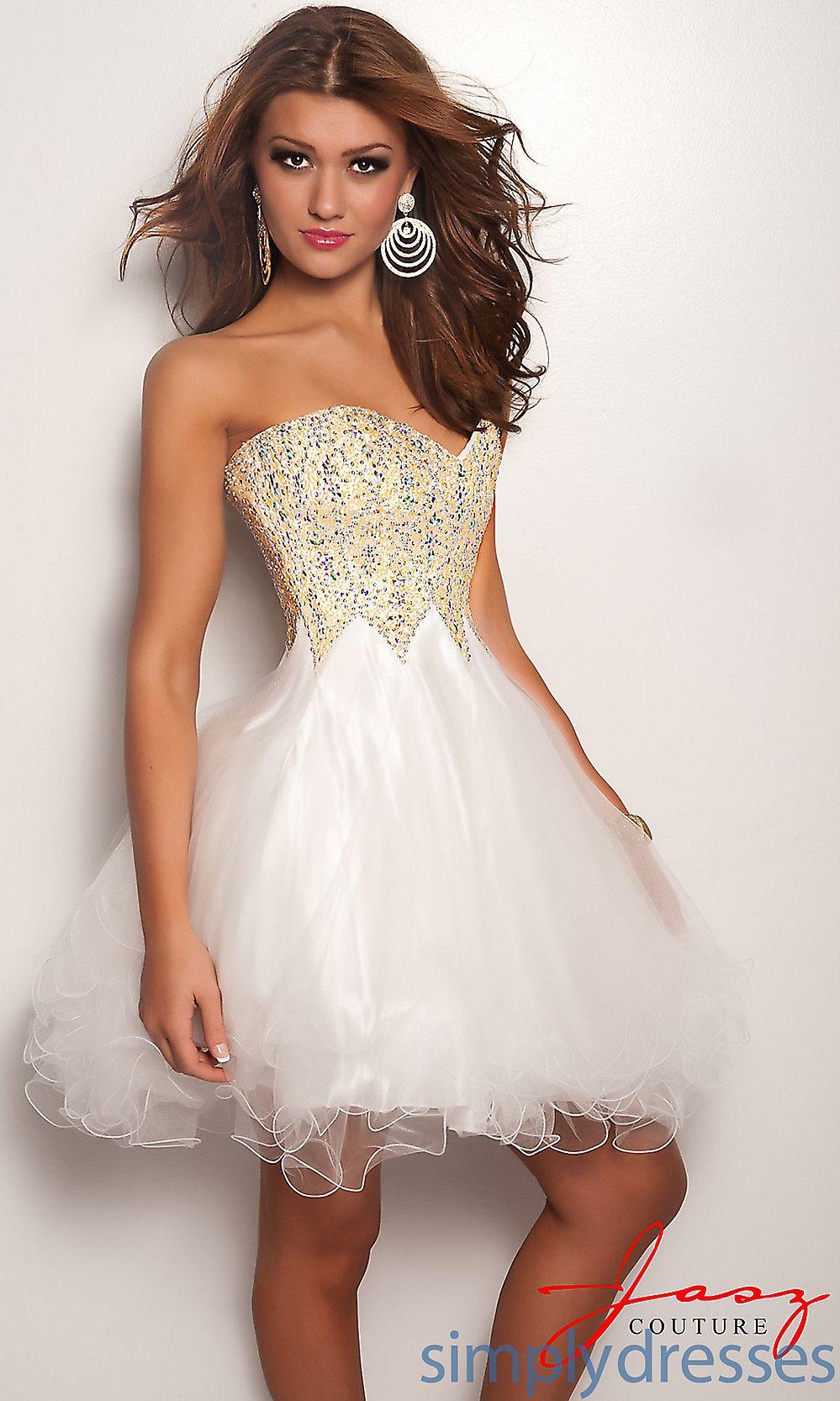 Dresses formal prom dresses evening wear white strapless dress