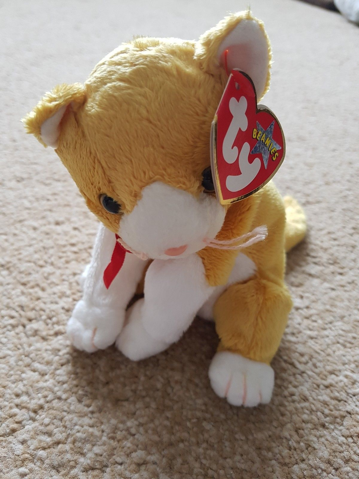 57071357bf7 3 Ty Beanie Babies Cats Kittens Frisco Pounce Tangles
