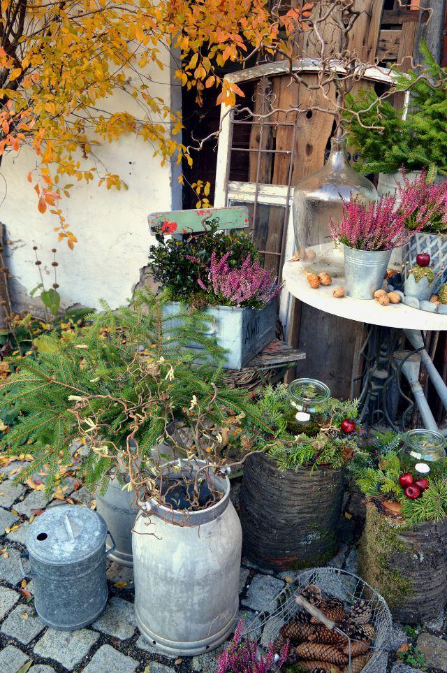 Hof 9 - ein Gartenblog in dem ein Fachwerkhof saniert wird, in dem es ab und an ein gutes Rezept gibt und jede Menge DIY. #weihnachtendekorationdraussengarten
