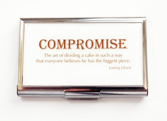 Business card case business card holder card case compromise business card case business card holder card case compromise ludwig erhard quote reheart Gallery