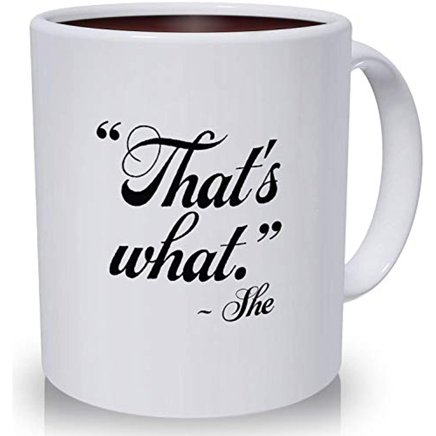 The fice Merchandise 11 oz Funny Porcelain Coffee Mug is a