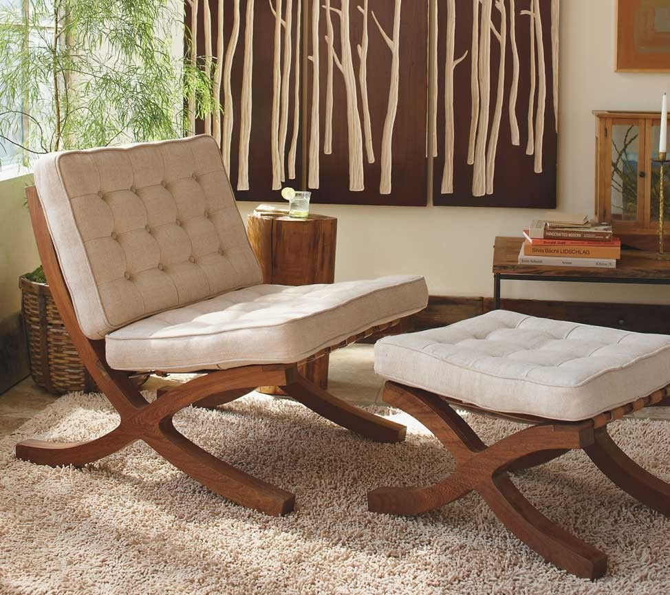 Butaca Chair Amp Ottoman 30 Quot W 34 Quot D 33 Quot H Furniture Home