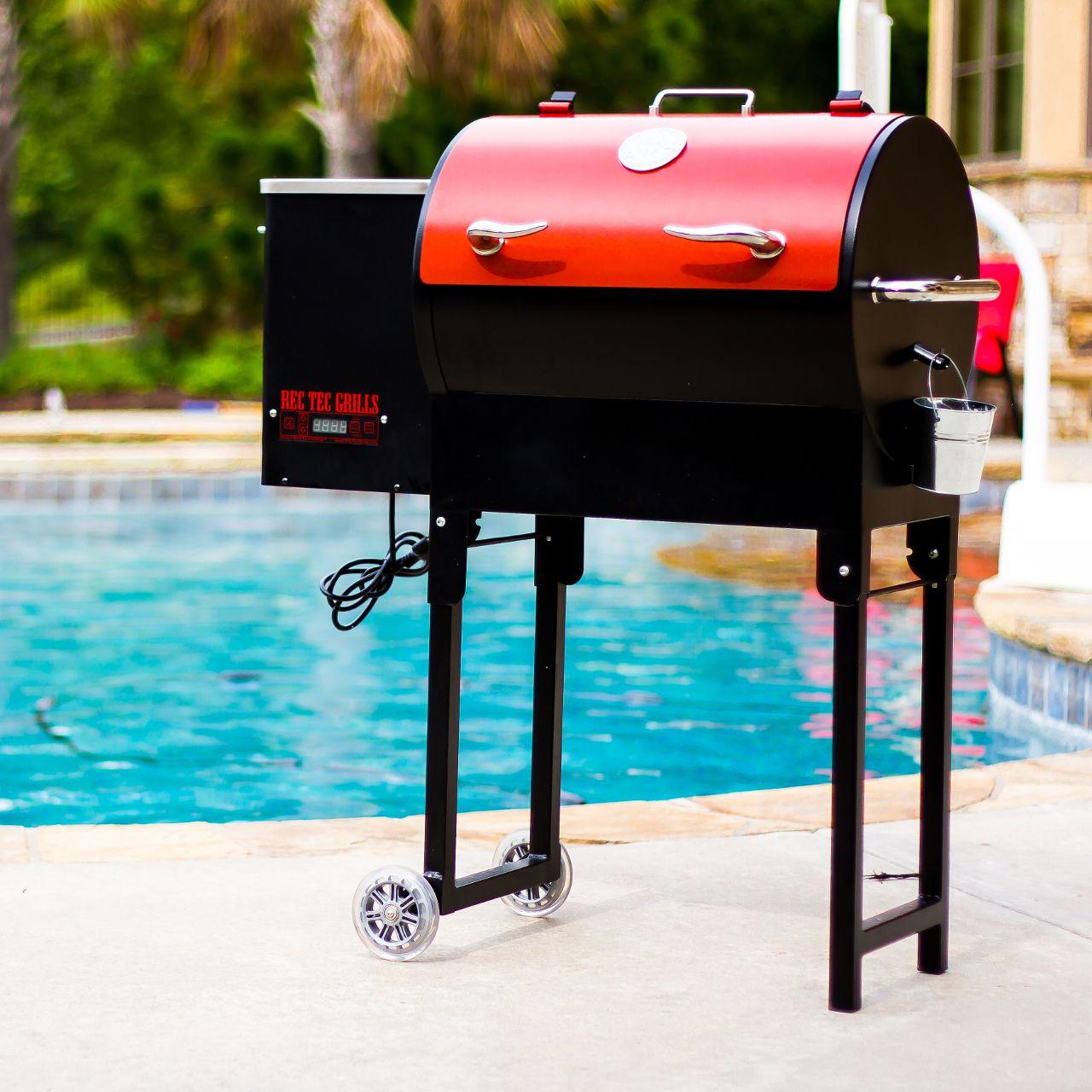 rec tec mini portable wood pellet grill rt300 - Wood Pellet Grill