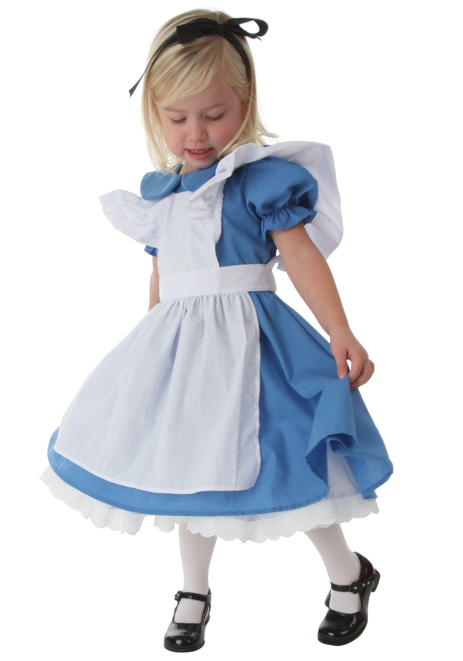 infant alice in wonderland costume | Deluxe Toddler Alice Costume ...