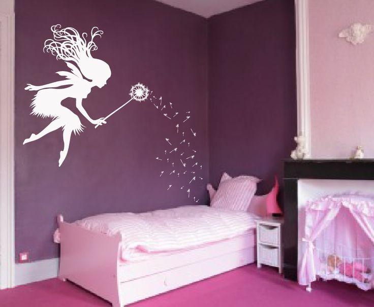 Fairy Dandelion Wand Wall Decal 1146 Decoración de