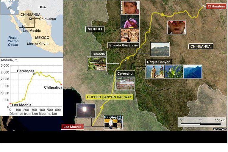 sinaloa mexico railroad | Copper Canyon railway winds its scenic way from Los Mochis, in Sinaloa ...