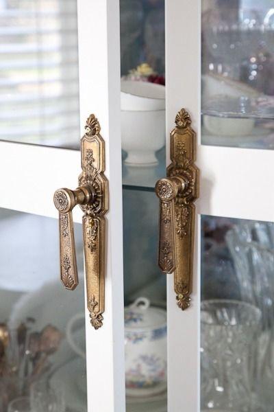Eclectic home tour christine dovey door handles for Beautiful door handles