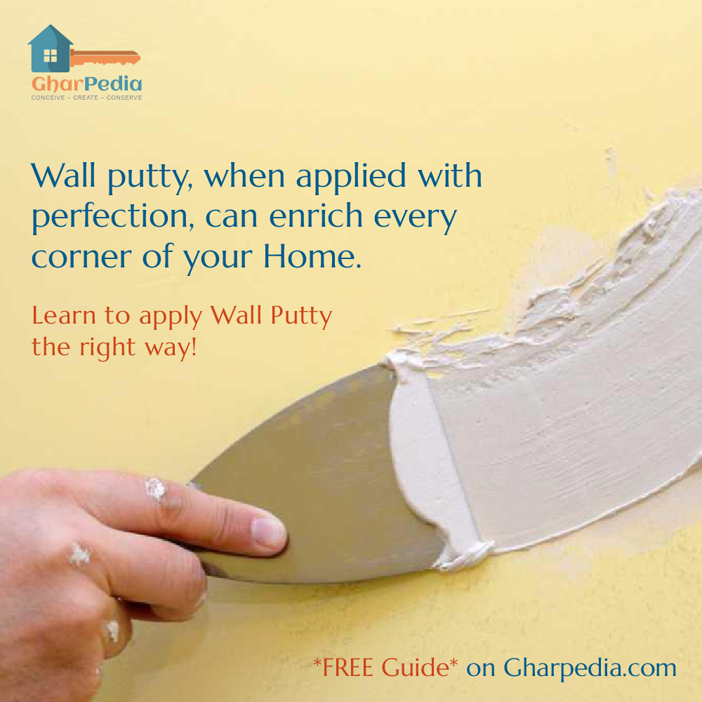 Free Easy Wall Putty Methods How To Apply Wall Wall Painting