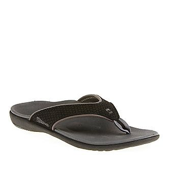 Spenco Women's PolySorb Total Support Yumi Thong Sandals :: Casual Sandals  :: Shop now with FootSmart