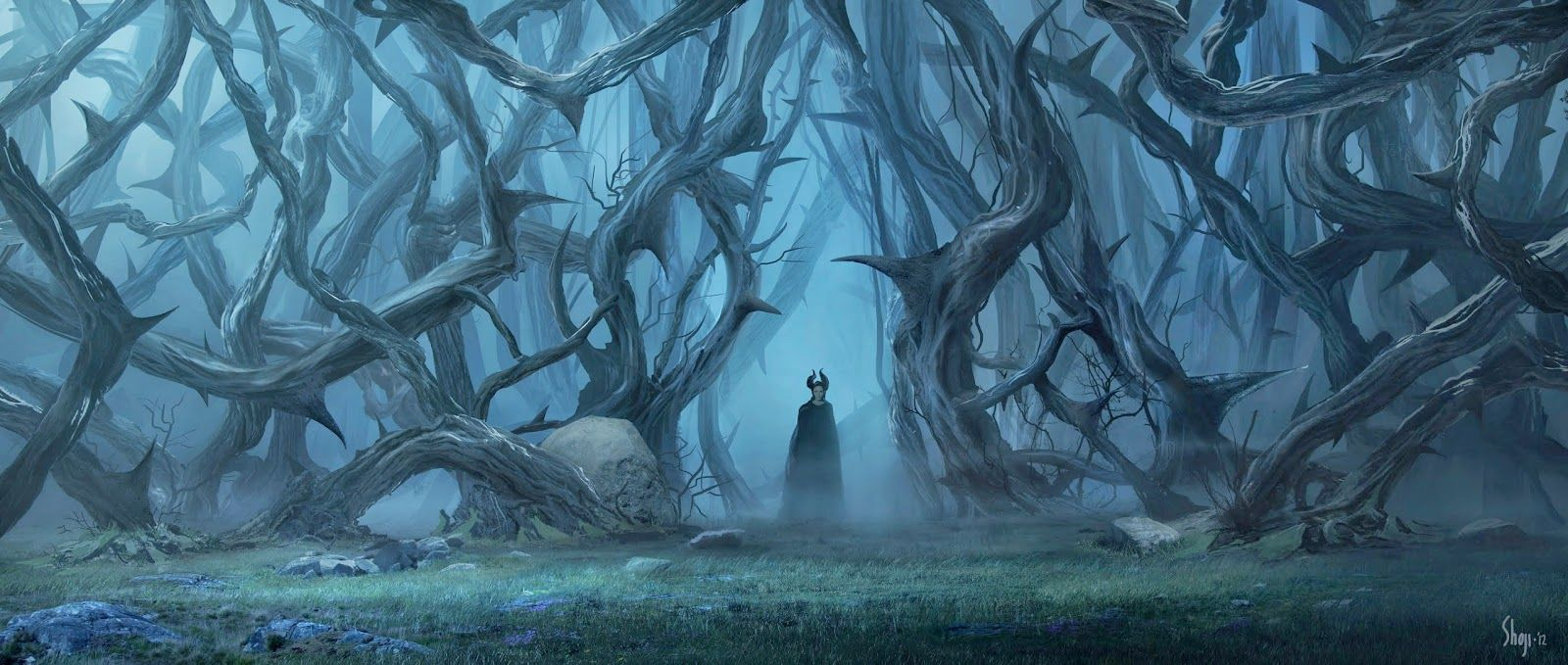 Wall Around The Moors Maleficent Concept Art World