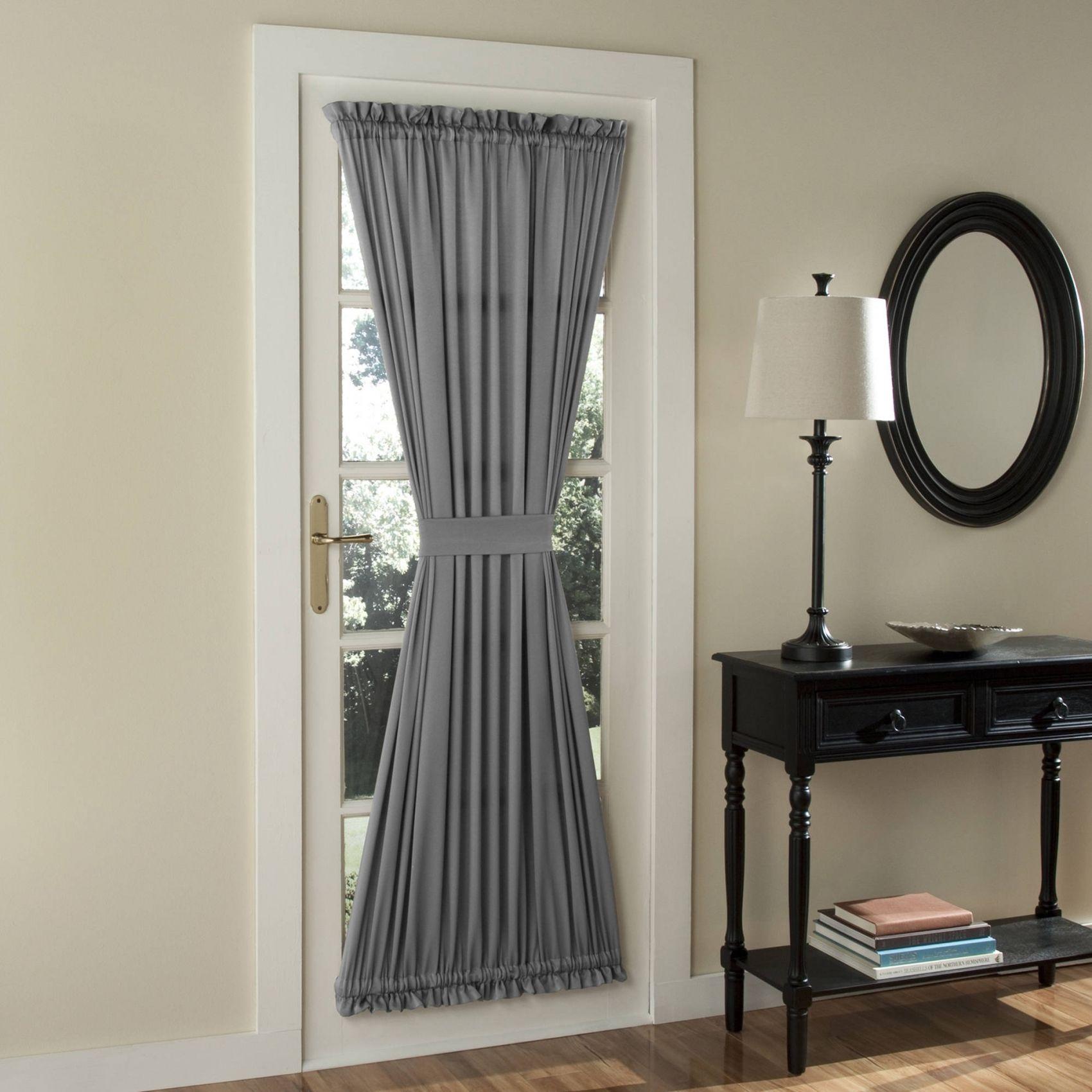 Short Side Panel Curtain Rods Dining Room Drapes Short