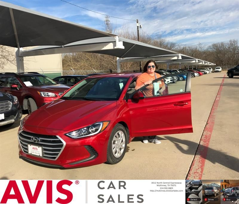 Avis Cars For Congratulations Jaime On Your Hyundai Elantra From Justin Wall At