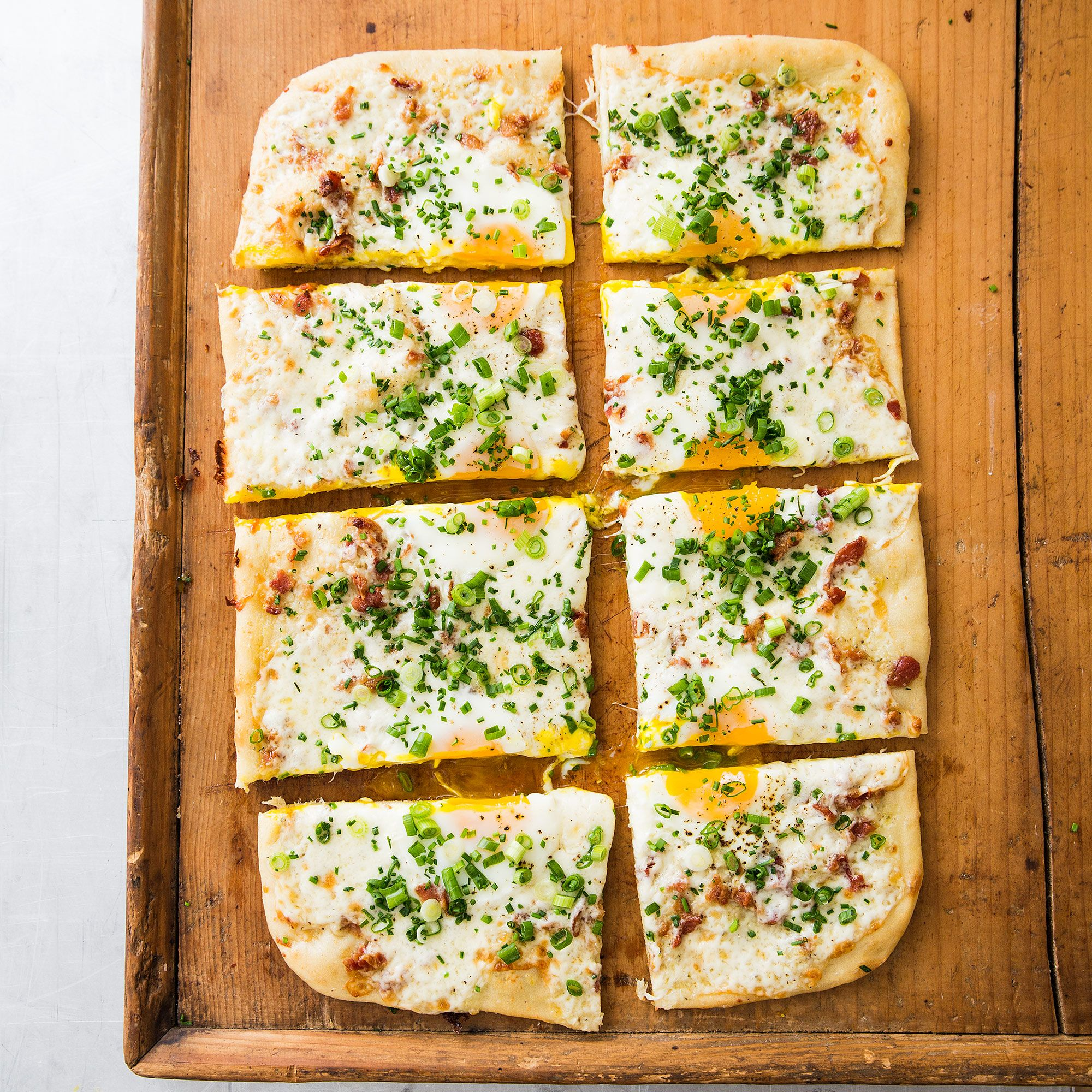 Country Test Kitchen Recipes Breakfast Pizza Recipe Cheese Challenges And Pizza