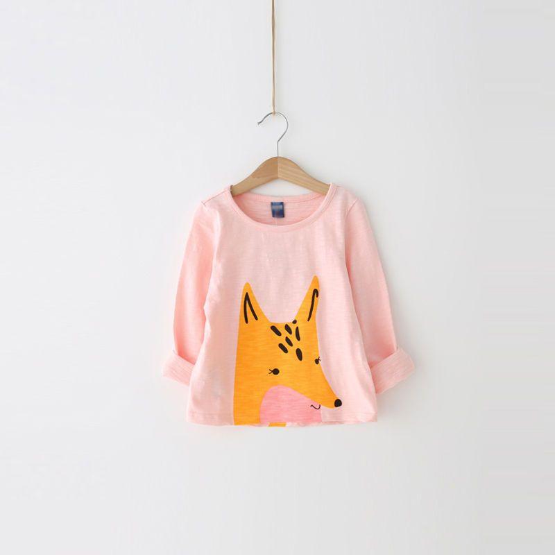 Kids Fox Print T-Shirt