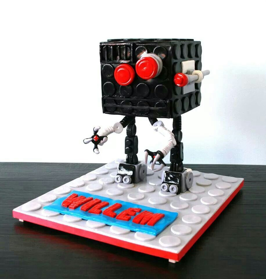 Lego Movie Micro Manager Cake By Sweet Temptation Novelty Lamp Legos Lego