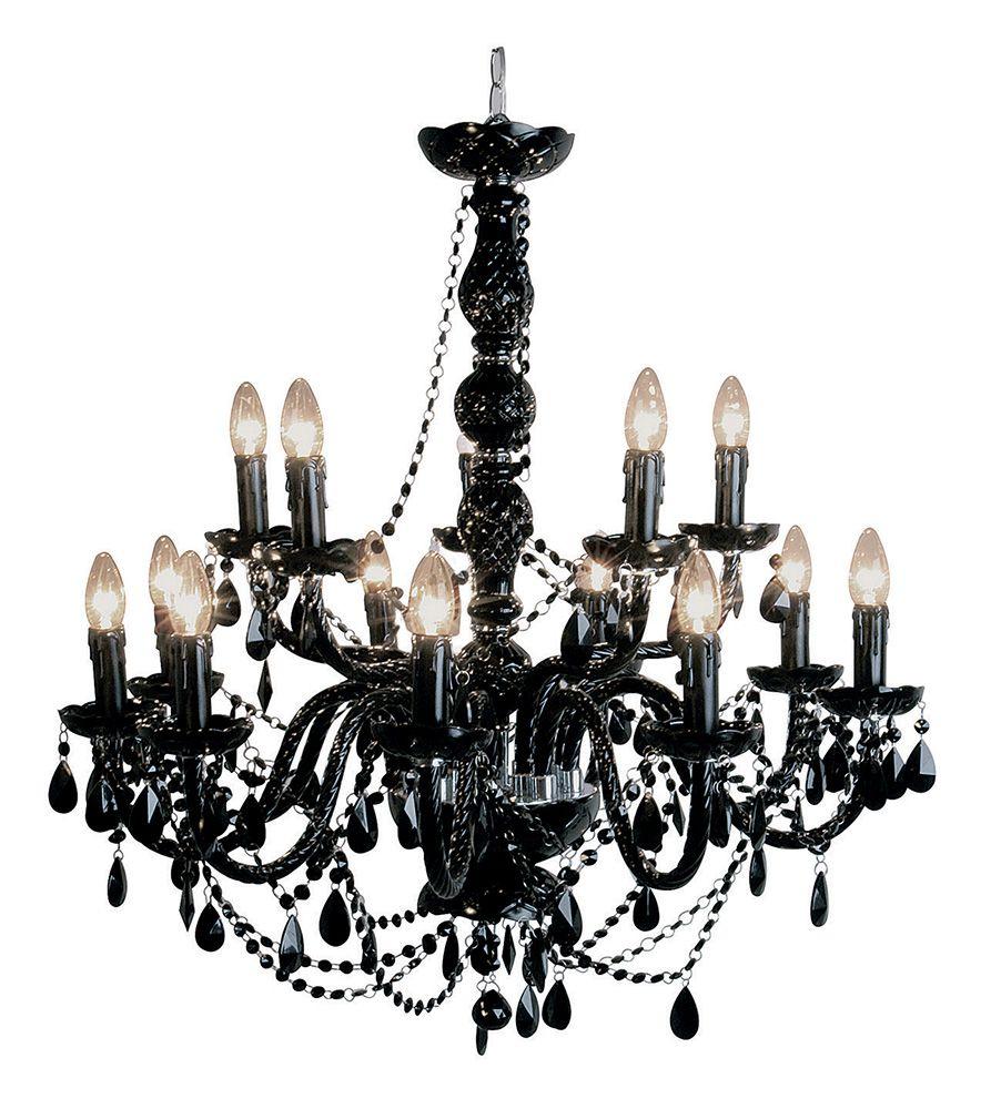 Lampadario Barocco nero Ampia gamma di lampadari a prezzi outlet ...