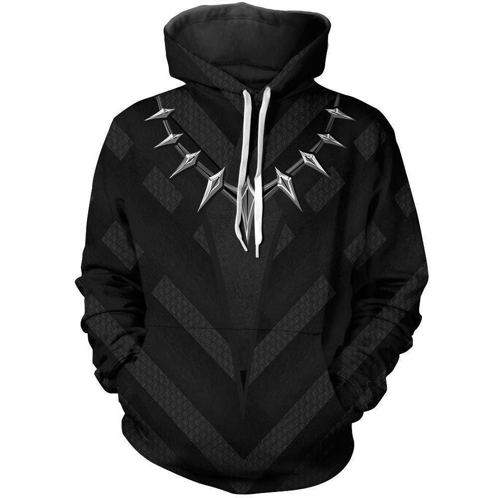 Black Panther Pullover Hoodie CSOS00C