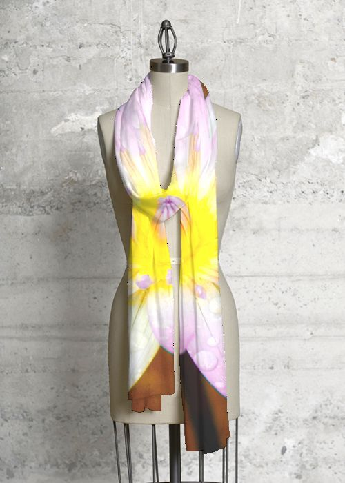 Modal Scarf - LOTUS FLOWERS by VIDA VIDA