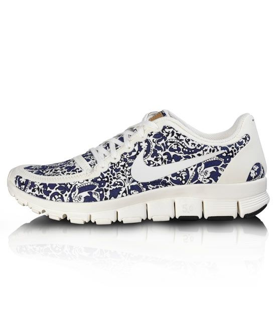 the best attitude ad1bb 20a4b ... reduced nike free 5.0 v4 liberty dark blue white blue sneakers for  wommens da128 59927