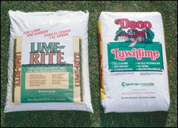 Lime And Gypsum Fertilizer Application Guide For Your Lawn Landscaping Pinterest Lawn