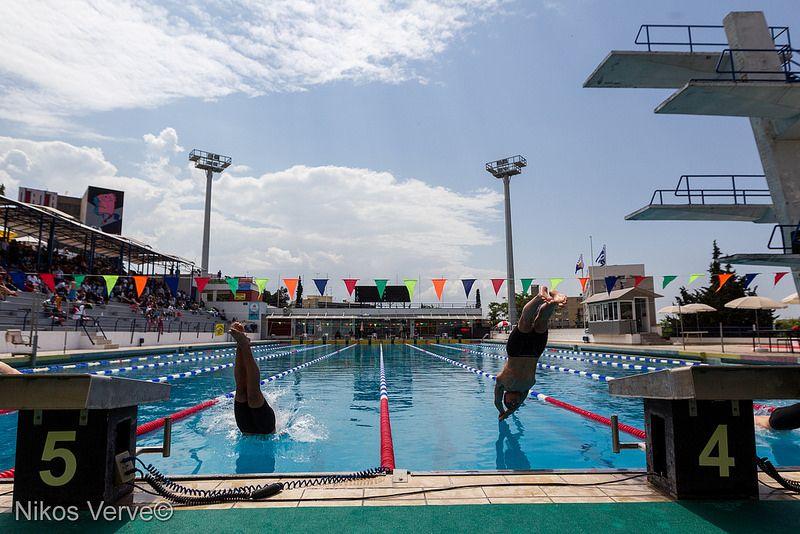 Makedonian Swimming Race Greece 2014 | Swimming, Greece