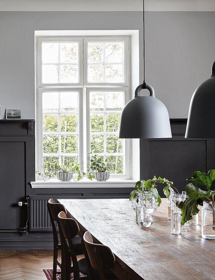 Cottage moderne  miser sur le bois etu2026le blanc ! Room, Living - salle a manger design moderne