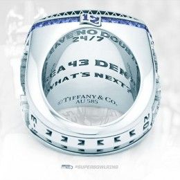Seattle Seahawks Super Bowl XLVIII Ring - inscription