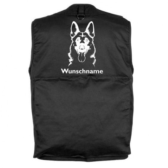 Deutscher Schäferhund 7 Hundesportweste Mit Rückentasche