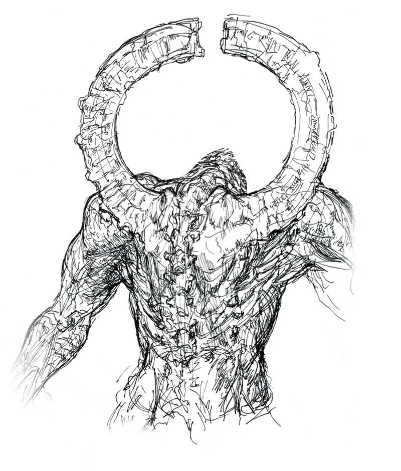 Titanite Demon Characters Art Dark Souls Dark Souls Concept Art Dark Souls Dark Souls Art