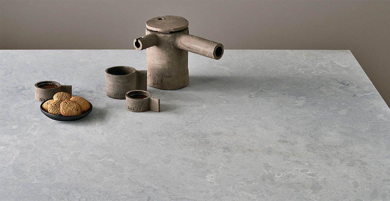 Caesarstone Cloudburst Concrete Quartz kitchen worktops