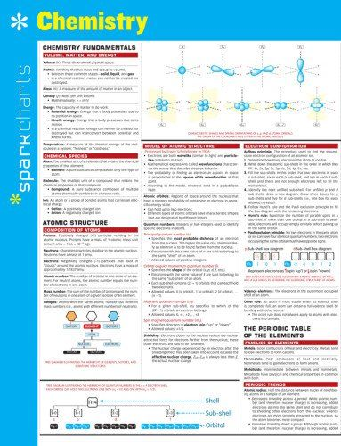 Download free Chemistry SparkCharts pdf | chem | Chemistry, Teaching