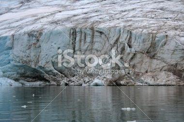 Calving Glacier Lizenzfreies Foto