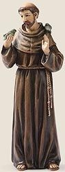 Saint Francis of Assisi Statue - 6 inches tall (15518) $16.00