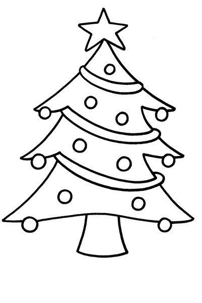 Arbol De Navidad Colorear Arbol De Navidad Para Colorear Dibujos Navidenos Faciles Dibujo De Navidad