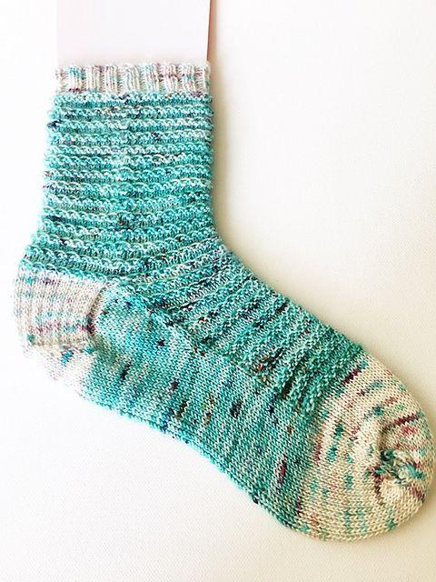 Bed Stuy pattern by Gayle Stone | Sock knitting patterns ...
