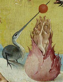 Jerome Bosch Le Jardin Des Delices Detail Hieronymus Bosch