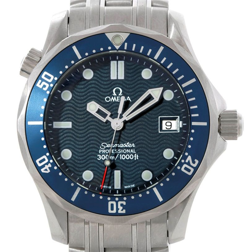 a8bd63891c6 Omega Seamaster James Bond Midsize 300M Watch 2561.80.00