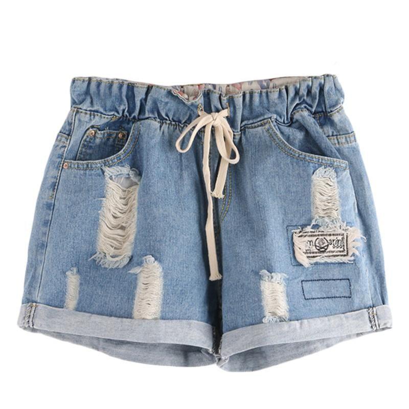 5d323418ec7 Women's Fashion Summer Ripped Shorts in 2019 | Things to wear ...