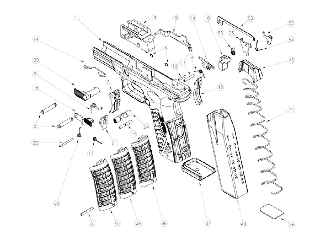 1000 images about gun diagrams and parts on pinterest bobs to  : parts diagram - findchart.co